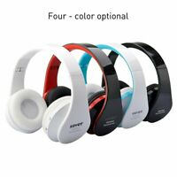 Wireless Bluetooth Headphones Foldable Stereo Earphones Super Bass Headset US KY