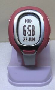 Garmin FR60 Ladies Pink & White Watch Only NO HR Band Sml/Med Band