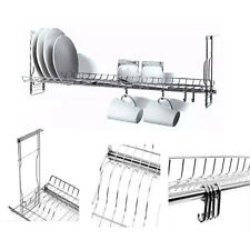 """Stainless Dish Drying Sink Cabinet Fixing Rack Ladle Cup Shelf Sink Kitchen 23"""""""