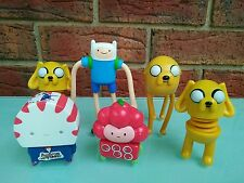 Adventure Time Toy Figures Finn Jake The Dog Cartoon Network Characters