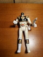 Mighty Morphin Power Rangers White Ranger Figure Flip Head
