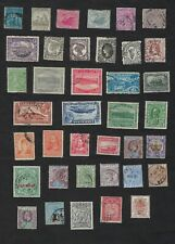 British Colonial Stamps,lot of 38 stamps, used good condition cat value 125€