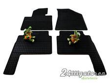 4 x Gummi-Fußmatten ☔ für KIA Sorento seitdem 2009