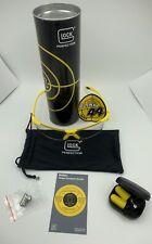 GLOCK G44 Shooting Glasses ,Lapel Pin, Earplugs, Target Analysis And Sticker