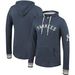 New York Yankees Mitchell & Ness Men's BIG & TALL Pullover Hoody Sweatshirt