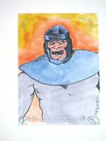 2018 MARVEL MASTERPIECES THE CONTROLLER 1 of 1 SKETCH CARD! FRAN FDEZ! IRON MAN!