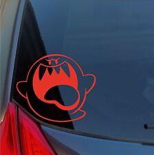 Super Mario Bros Grande Boo Vinilo Adhesivo Juego Nintendo Ghost Castillo Coche