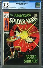 Amazing Spider-Man #72 (Marvel 5/69) CGC 7.5, StanLee and John Romita!