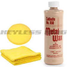 New Collinite 850 Liquid Metal Wax Polish 16oz Pint #850 Cleaner