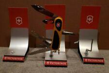VICTORINOX Swiss Army Knife SAK 3x Retailer Collector Display Stands RARE