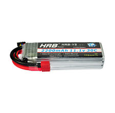 HRB TREX 450 Helicopter Lipo Battery 11.1V 2200mAh 30C 60C RC Car Fixed-Wing US