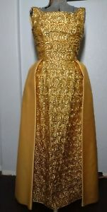 Vintage 60s Mike Benet Formals Gown