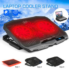 LCD Laptop Cooling Fan Notebook Cooler Stand 6-Speed Adjustable Quiet Fan UU