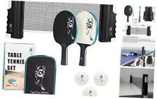 New listing Portable Ping Pong Net and Paddles Set – Table Tennis with Retractable Net and