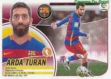11 ARDA TURAN TURKEY FC.BARCELONA GALATASARAY.SK STICKER LIGA 2017 PANINI