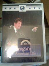 REAGAN : AN AMERICAN LIFE NEW SEALED DVD WORLDWIDE MEDIA DVD RONALD REAGAN DVD