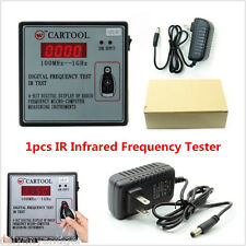 1×Car IR Infrared Remote Key Frequency Tester Digital Frequency Test 100MHz-1GHz
