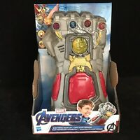 Avengers End Game IRON MAN Electronic Gauntlet Figure Marvel Hasbrol Toy NEW