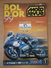 Programme officiel Moto Revue 63e BOL D'OR Moto Endurance 1999