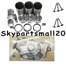New 3TNA68 Overhaul Rebuild Kit For Komatsu 3D68 Engine Excavator 1set