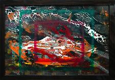 Colourful Dynamics dinamismo colore e forma OLIO-VERNICE dipinto 1998 Jozsef Totn * 1944
