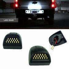 18 Smd Full Led License Plate Light Kit For Silverado Gmc Sierra 1500 2500 3500