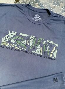 Scotty Cameron NEW Gallery (XXL) GOLF COURSE Band Circle T T-Shirt *Heavy Metal*