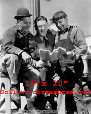 """Three Stooges~Curley~Moe~Shemp~Comedy Team~Poster~ Photo~ 16"""" x  20"""""""