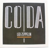 """MINT Led Zeppelin COMPLETE BBC SESSIONS Lithograph Promo Poster  8/"""" x 8/"""" 2016"""