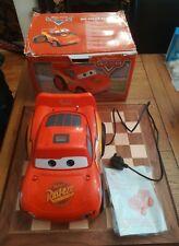 In scatola Disney Pixar Cars Saetta McQueen Boombox Lettore CD Radio AM/FM