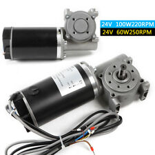 High Torque 25kgcm 60w Dc 24v 250rpm Brush Gear Automatic Door Motor Amp Cable Us
