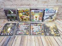 PS3 Game Lot - 8 Games - Call Of Duty, Blazing Angels, Baja 1000, Mortal Kombat