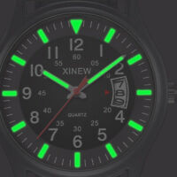 New Nylon Strap Band Men Boy Military Army Date Quartz Unique Wrist Watch Gift
