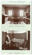 Allemagne, Frankfurt, Goethehaus, Phot. Louis Held Weimar Vintage albumen print,