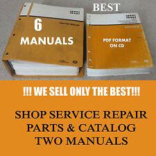 Case Phase 1 580 K Loader Backhoe 6 Service Manuals Parts Catalog & Operator CD