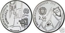 manueduc   PORTUGAL  2012  2,5 EUROS Historical center of GUIMARAES  Unesco