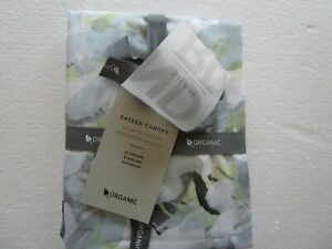 1 West Elm sateen Collage floral standard sham stone white   New