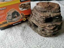 Reptile cave hide, magnetic hide, egg box, larger than exo terra