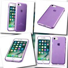 iPhone 8 Zeon Case Micro Slim Cover Flex  Impact Resistant Gel Bumper Purple