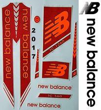 New Balance TC 1260 Red 2017 cricket bat sticker.Steve Smith,Joe Root,Ben Stokes