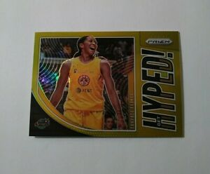 2020 Panini WNBA Prizm Gold Hyped Refractor Candace Parker 09/10