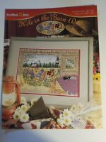 StitchWorld Hole In The Barn Door Farm Diane Phalen Counted Cross Stitch Pattern