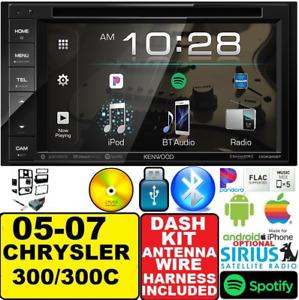 05-07 CHRYSLER 300 KENWOOD DVD BLUETOOTH Car Radio Stereo OPTIONAL SIRIUSXM