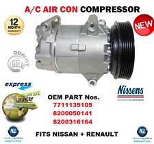 Per 7711135105 8200050141 8200316164 Air Condition COMPRESSORE NISSAN RENAULT