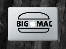 Big Mac Sticker Burger Decal For Apple MacBook Mac iPad Laptop Car Window