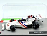 FORMULA 1 UNO F1 SCALA 1/43 MODELLINO AUTO HESKETH 308B CAR MODEL DIECAST IXO