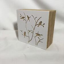 """Storage/Trinket Box - Medium """"Bird Design"""""""