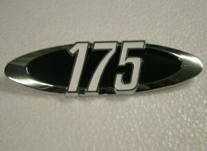 175 SIDE COVER BADGE for HONDA CB175 & CL175 K5 1971 MODEL BRAND NEW EMBLEM HS47