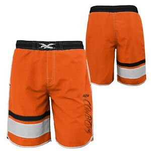 Outerstuff NCAA Youth Oklahoma State Cowboys Color Block Swim Trunks
