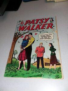 PATSY WALKER #55 PAPER DOLL ISSUE HEADLIGHTS 1953 ATLAS comics golden age gga